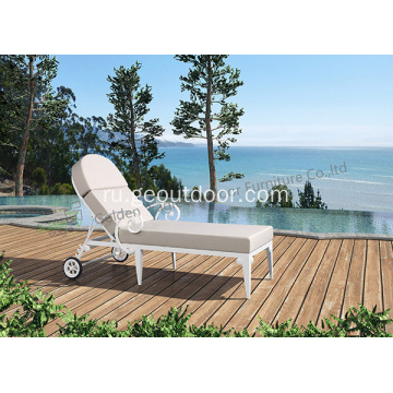 Outdoor+Chaise+Lounge+Chair+With+Cushion